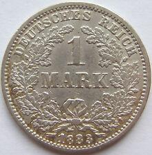 RARITÄT! 1 Mark 1883 G in fast SEHR SCHÖN SEHR SELTEN !!!