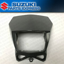 2002 - 2017 SUZUKI DR-Z DRZ 400S SM DR 200 650 OEM HEAD LIGHT COVER MASK GRAY