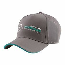 MERCEDES BENZ AMG FORMULA 1 PETRONAS GRAY CLASS HAT CAP WITH TEAM LOGO