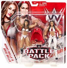 WWE WRESTLING FIGURE MATTEL BATTLE PACK BELLA TWINS NIKKI & BRIE DIVAS MOC BOXED