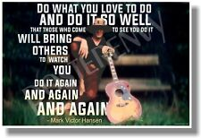 Do What You Love To Do - Guitar - NEW Classroom Music Motivational POSTER