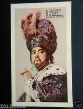 figurines actors attori figurine cigarettes cards 30 george robey actress cinema