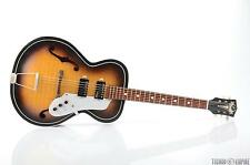 1960s KAY K6858 Archtop Electric Guitar w/ KENT WC-25 Lafayette Pickups #26398