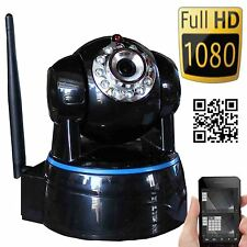 Wansview Wireless IP Camera Pan Tilt 1080P HD P2P Audio WiFi Smarpthone view