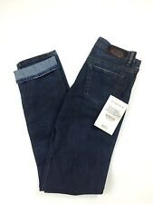 RPP 210€ Diesel Women's Faithlegg Straight 0804D Jeans W26 L32 Color Blue