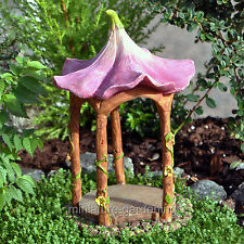 Miniature Fairy Garden Flower Top Gazebo