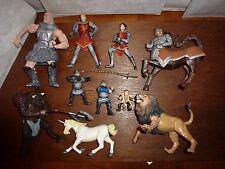 RARE Disney Narnia figure toy playset Aslan Peter Unicorn Cyclops Minotaur Edmun