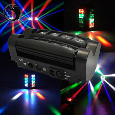 60W 8-LED 4-in-1 RGBW Light Spider Moving Head Stage Lighting DMX512 DJ Disco