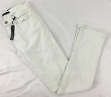 J Brand Women's Denim Jeans Distressed Mid-Rise Rail Runaway Blue White Sz 24
