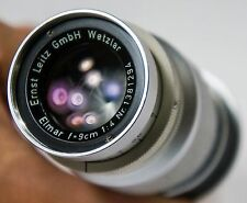 Leica Elmar 90mm f4 *Amazing Bokeh & 3D Effect *Great Portrait Lens