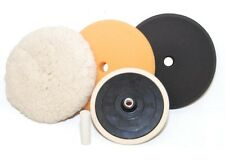DETAILING BUFFING POLISHING PAD KIT-SET Polish Auto Car