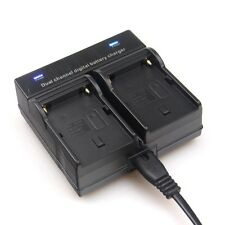 Dual Channel Battery Charger FOR SONY NP-F550 F970 F960 F770 F750 F570 FX1000E