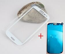 Front Outer Lens Glass touch Screen For Samsung Galaxy S3 SIII i9300 +Adhesive