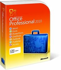 OFFICE 2010 PROFESSIONAL PLUS dvd Product key 32/64 BIT ** ORIGINALE**