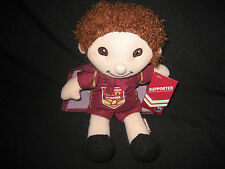 QUEENSLAND STATE OF ORIGIN MAROONS DOLL With CAPE - NEW!