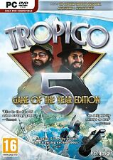 PC Spiel Tropico 5 Game of the year Edition GOTY DVD Versand NEU