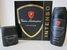 Profumo LAMBORGHINI tonino intenso Cofanetto uomo set gel Eau De Toilette 50 ml