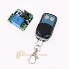 DC 12V 10A 1CH Wireless RF Remote Control Switch Transmitter+ Receiver New