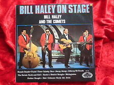 Bill Haley and The Comets On Stage (1968) UK LP  Hallmark