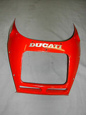 Ducati 750 900 SS 1991-1997 Top Fairing Cowl Red OEM 48110041AB