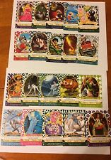 Sorcerers Of The Magic Kingdom Cards  # 41 - #60.  Twenty Cards Total