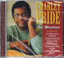 CD ♫ Compact disc **CHARLEY PRIDE ♦ THE MASTERS** Nuovo Originale