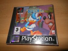 Donald Duck Quack Attack PAL Playstation PS1 (SEALED)