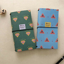 """Hello Color"" Notebook Diary Journal Schedule Planner Travel Sketch Book Note"