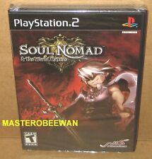 PS2 Soul Nomad & the World Eaters New Sealed (Sony PlayStation 2, 2007)