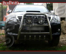 TOYOTA HILUX 2013+ HIGH BULL BAR, NUDGE BAR, A BAR +GRATIS! STAINLESS STEEL!