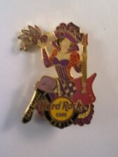 Hard Rock Cafe Pin Venice Carnival Girl with Mask & Guitar 2012
