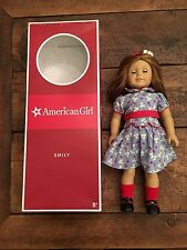 "American Girl Doll Emily 18"" Original Outfit & Box AG"