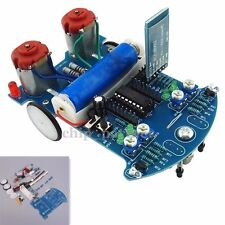 D2-6 Bluetooth Remote Control Smart Car Tracking Robot Car Chassis DIY Kit