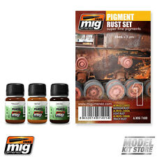 Ammo of Mig PIGMENT RUST SET Weathering Set 7400