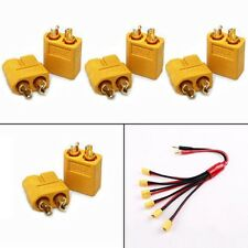20PCS 10Pairs XT60 Male Female Bullet Connectors Plugs for RC Lipo Battery Hot