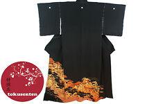 Kimono Japonais Authentique Véritable Import Japon NEUF SILK SOIE MADE IN JAPAN