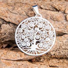 Yggdrasil Weltenbaum mit 19 SWAROVSKI ELEMENTS Symbol-Schmuck Esoterik Feng Shui