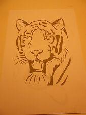 Schablone Tiger6 auf A4