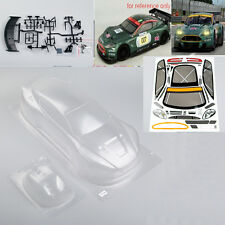 190mm  1:10 RC Car PC BODY SHELL Transparent for ASTON MARTIN DBR9  PC201020