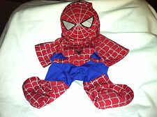 Build a Bear Red/Blue/Sliver Spider-Man Suit and Mask