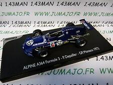 voiture 1/43 ELIGOR : Renault Formule 3 A364 GP Monaco 1972 Depailler