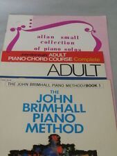 Piano Music Book Lot of 7 - How to Play, Song Books + others - Gently Used