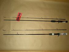 2 Shakespeare Ugly Stik Casting Rods, 6', Med., (1 NOS, 1 GX2) New