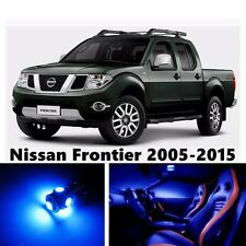 8pcs LED Blue Light Interior Package Kit for Nissan Frontier 2005-2016