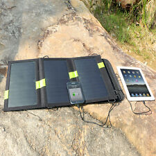Foldable 5V 20W Solar Sunpower Cell Charger for iPhone6 5s 5c Blackberry Tablets