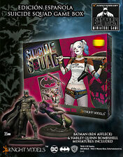 KNIGHT MODELS SPANISH SUICIDE SQUAD GAME BOX BATMAN & HARLEY BOMBSHELL