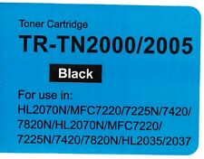 TN2000 / TN2005 TONER COMPATIBLE FOR BROTHER HL-2035,HL-2037,HL-2070N,MFC-7220,