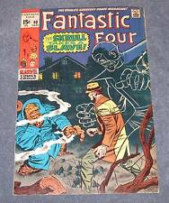 FANTASTIC FOUR #90 FN/VF (7.0) - 15¢ cover Marvel Comic (1969) SKRULL!