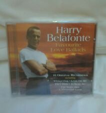 BRAND NEW/SEALED HARRY BELAFONTE-FAVOURITE LOVE BALLADS CD