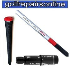 GRAFALLOY PROLAUNCH RED REG SHAFT FITTED WITH TM RBZ STAGE 2 ADAPTOR & TM GRIP